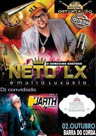 NETO LUXÚRIA - 02 DE OUTUBRO
