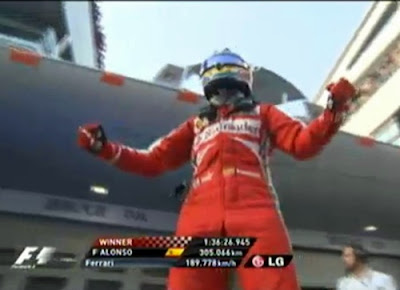Fernando Alonso Wins Chinese GP 2013