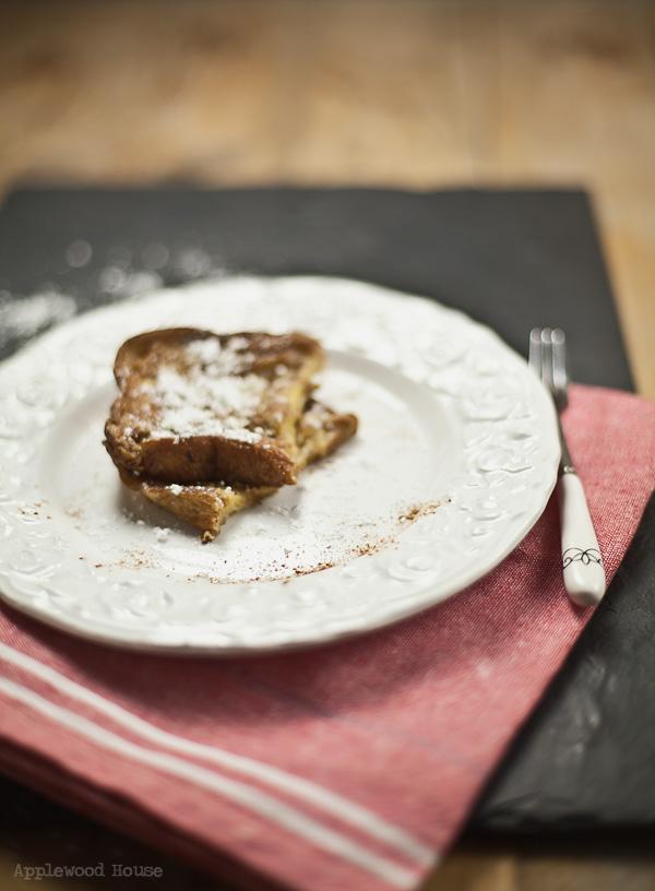 Frühstück French Toast Arme Ritter