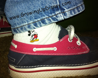 Mickey Mouse Socks, Growing Up Disney