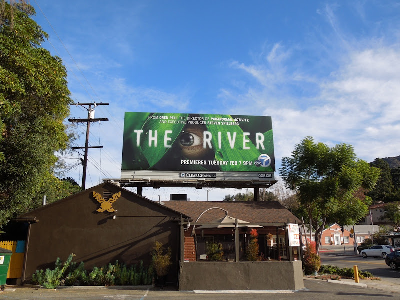 The River ABC billboard