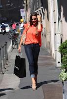 Sofia Vergara Shopping at Cesare Paccioti in Italy
