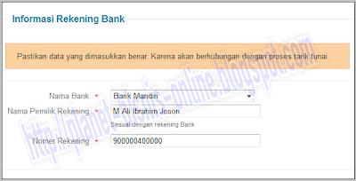 Cara membuat rekening online, cara buat rekening online, alat pembayaran online, buka rekening online, sistem pembayaran online, ipaymu