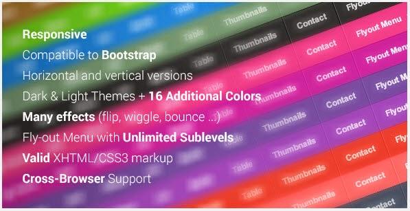 3d Mega Menu for Bootstrap
