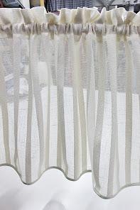 Gardinkappor på metervara i lager