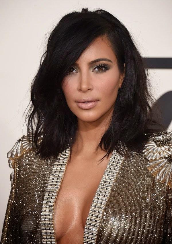 kim kardashian cabelo