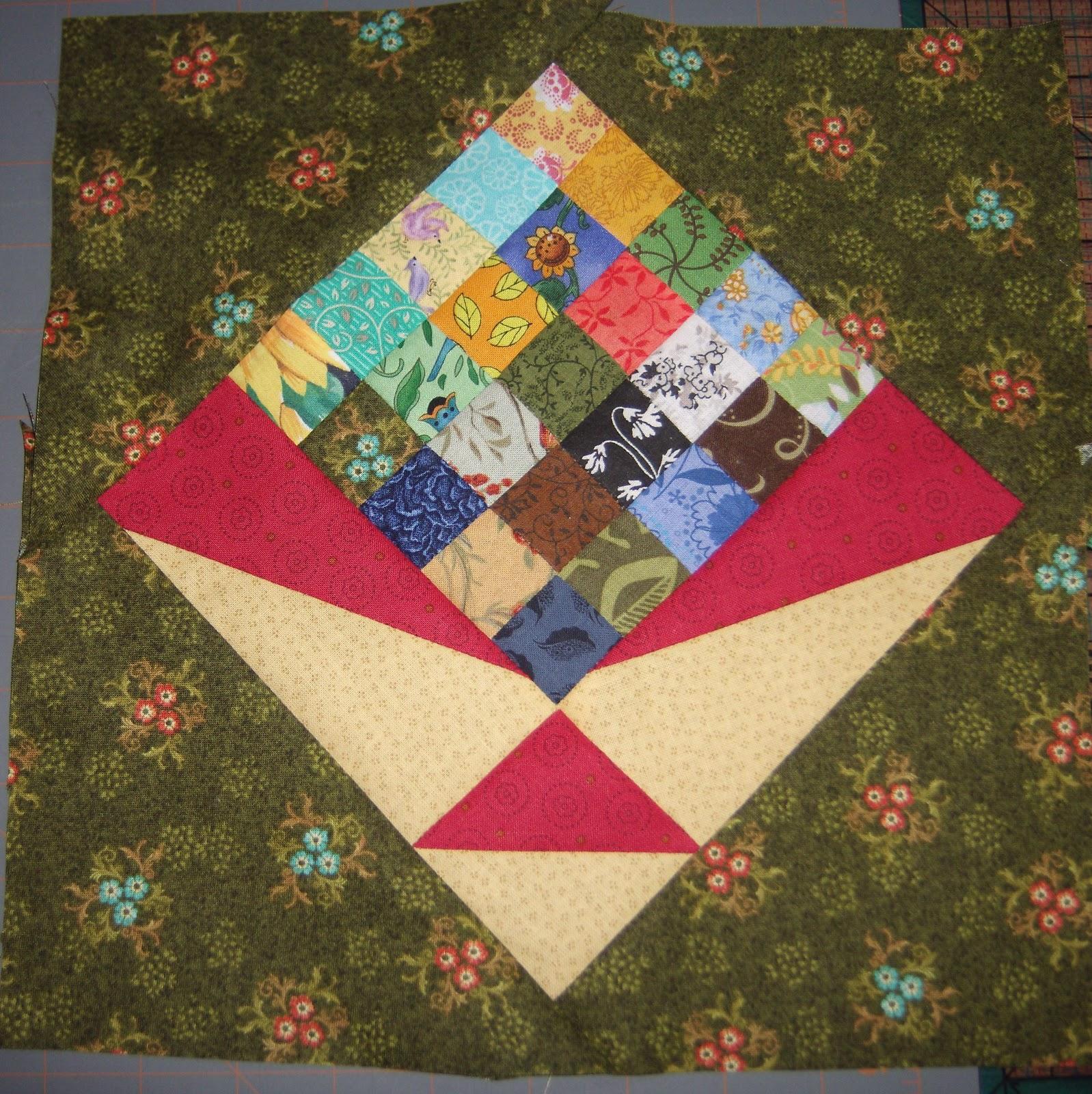 Nosegay Quilt Block Pattern