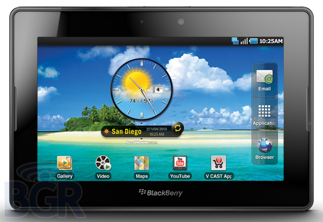 Spesifikasi Harga BlackBerry PlayBook