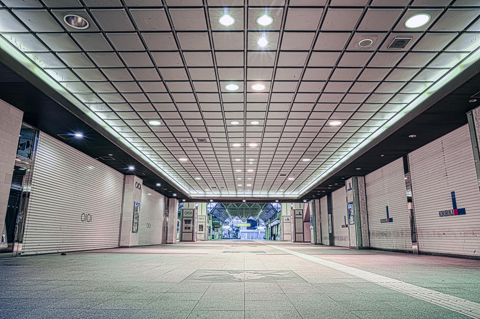 南口から入った国分寺駅