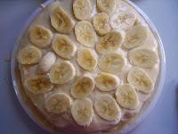 torte mit bananen
