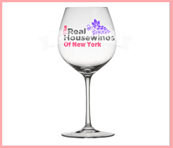 The Real Housewines Wine Glass