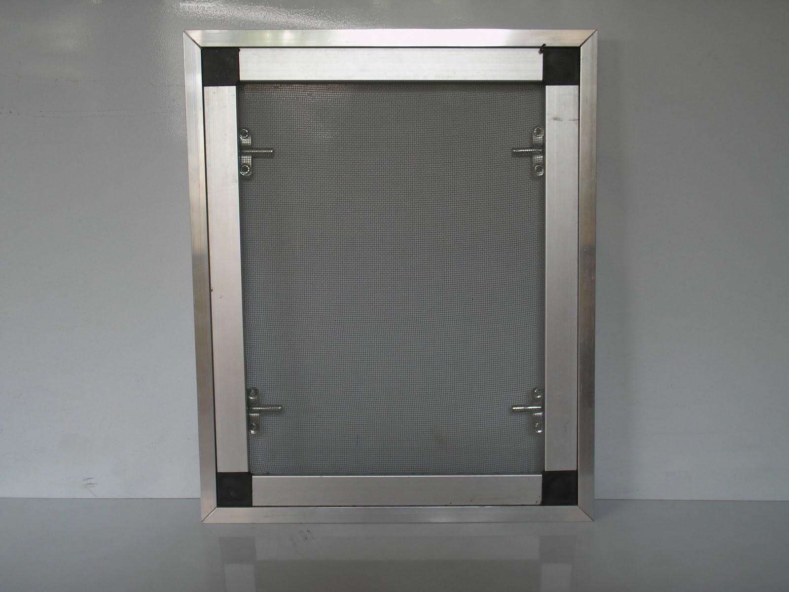 #6F695C Design Aluminium: Tela de mosquiteiro (lado externo) 4836 Janela De Aluminio Branco Com Tela Mosquiteiro