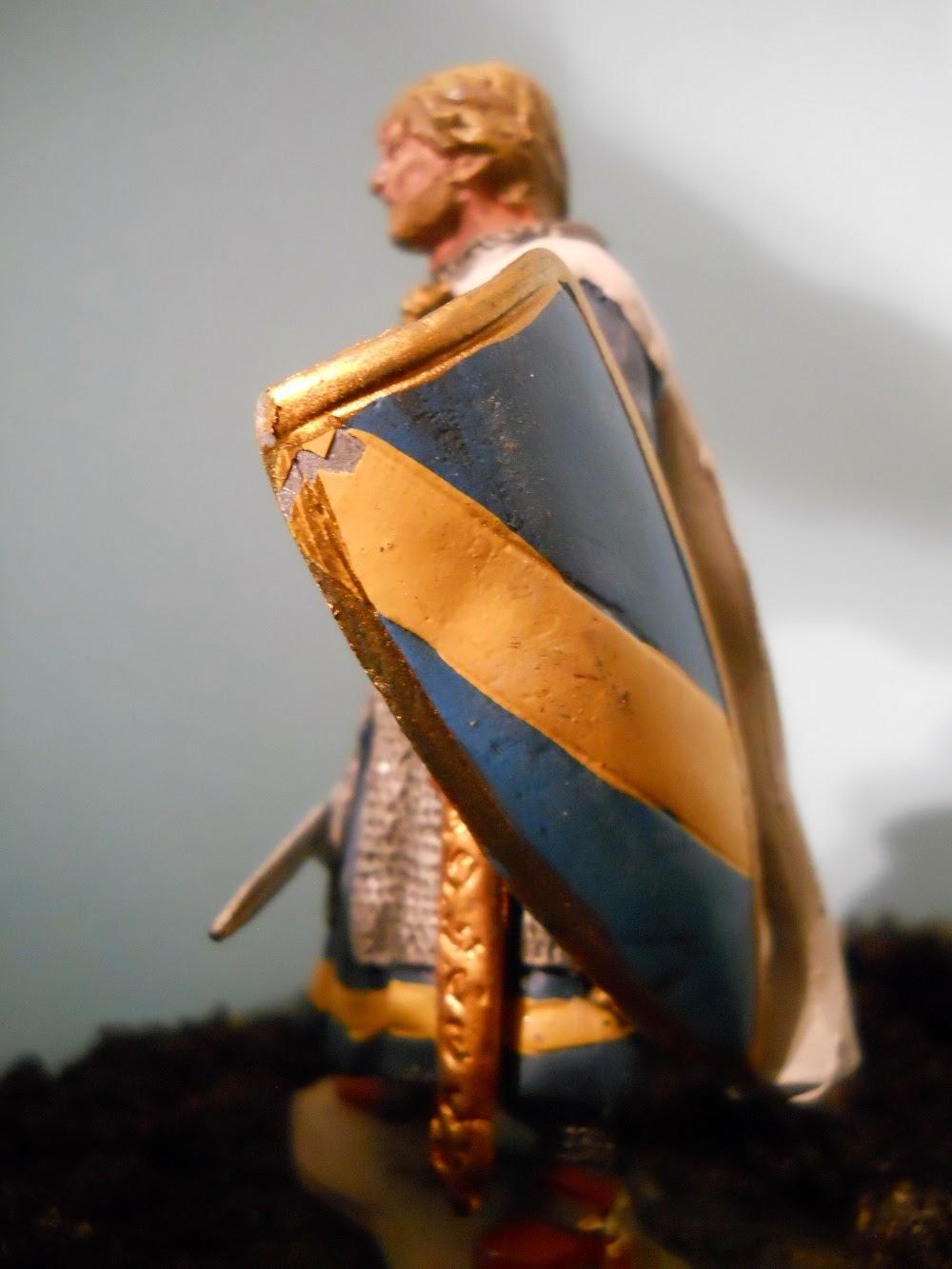 maqueta de Huges II de Payns