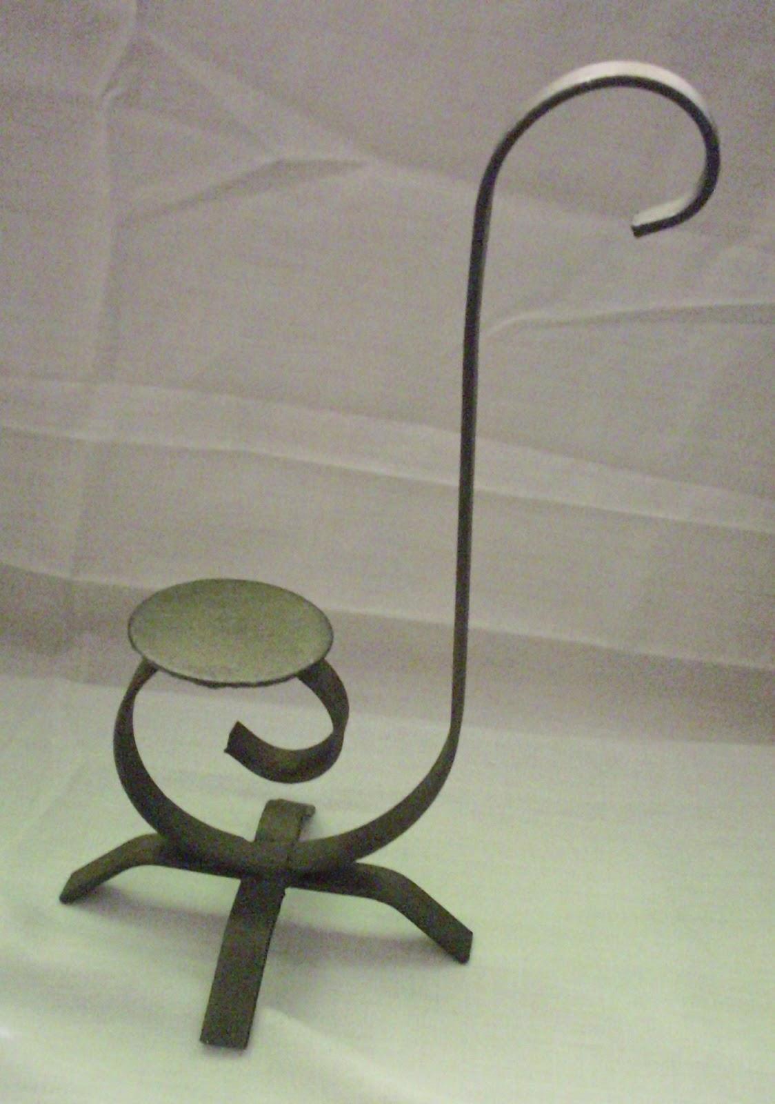 Decoraci n en hierro porta velas - Portavelas de hierro ...