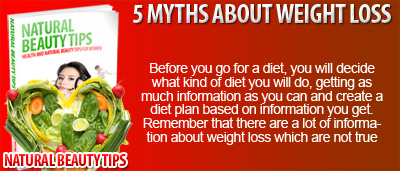 5 Myths About Weight Loss