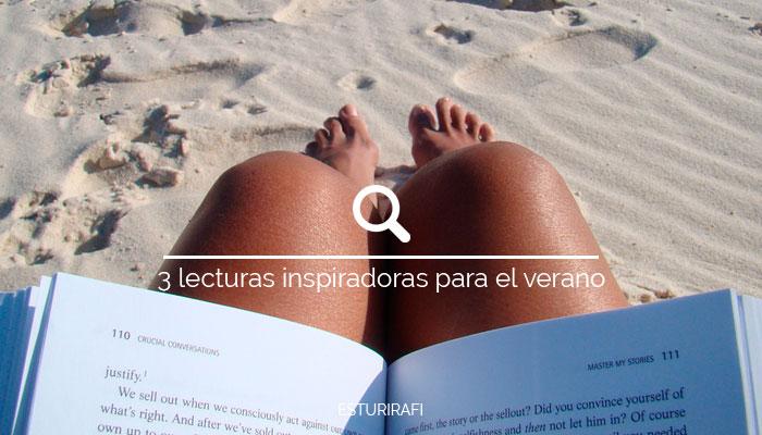 Recomendación 3 libros que llevarte a la playa, leer al sol