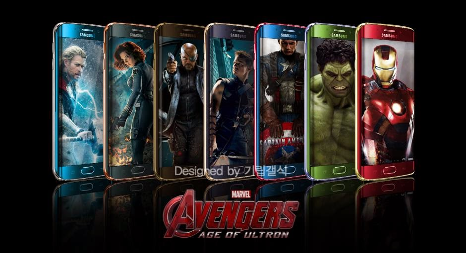 "Galaxy S6 Limited Editio in The Style of ""The Avengers"""