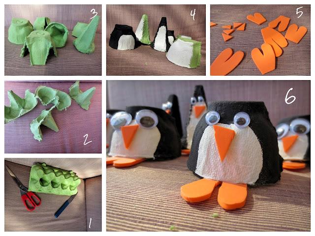 Pitsch Patsch Pinguin Platzkarten für Festlichkeiten 1