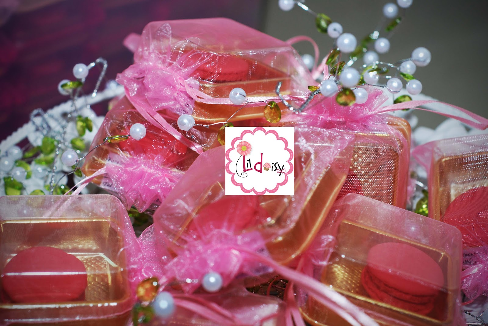 Just Lildaisy ( Ampang ): Door Gift Macaron : Simple and Stylish