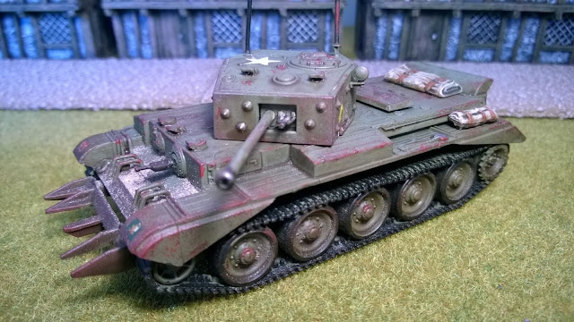 canadian bolt action cromwell 4th division tank