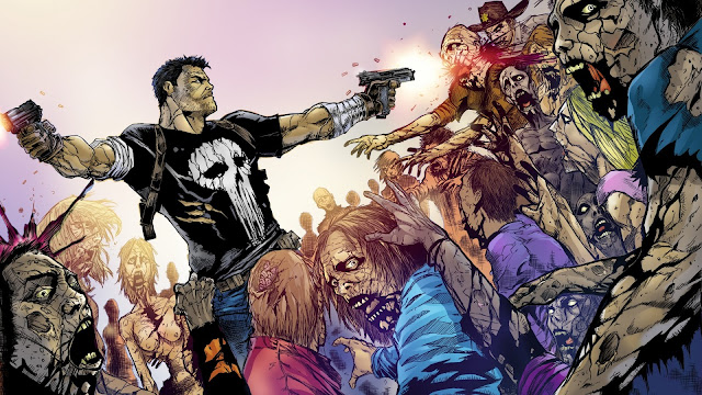 Frank Castle Punisher en The Walking Dead