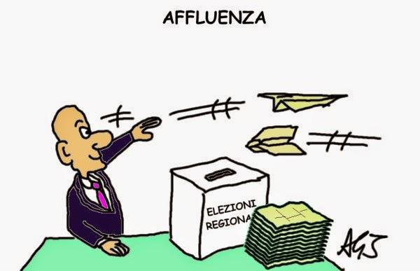 elezioni, affluenza, satira