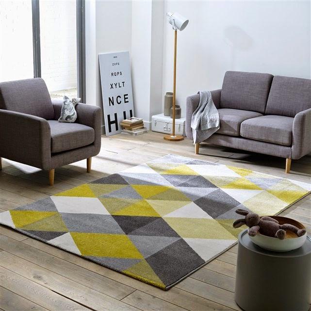 Pellmell cr ations ma s lection de tapis la redoute - Recherche tapis de salon ...