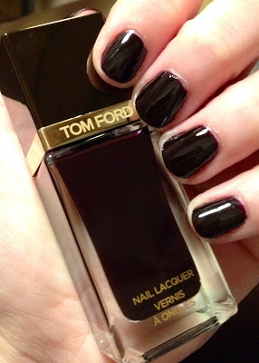 My 2014 in nails, #ManiMonday, Mani Monday, manicure, nails, nail polish, nail lacquer, nail varnish, Tom Ford Black Cherry