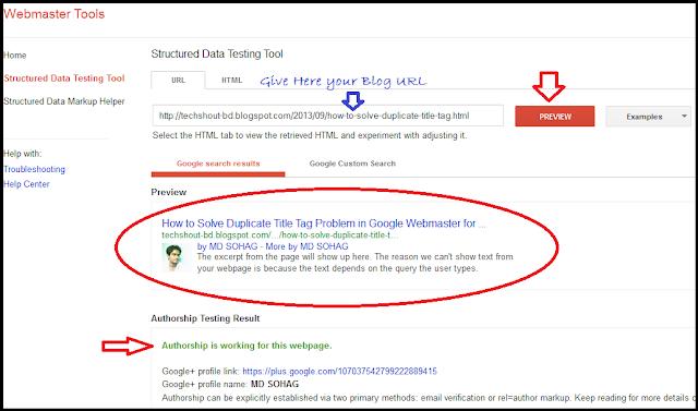 Search Engine এ Blog Post URL এর পাশে Add করুন আপনার Picture