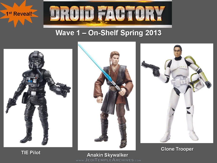 Star wars droids actionfigures