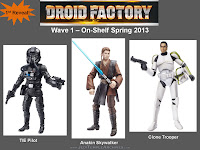 Star Wars Droid Factory 2013 Wave 1