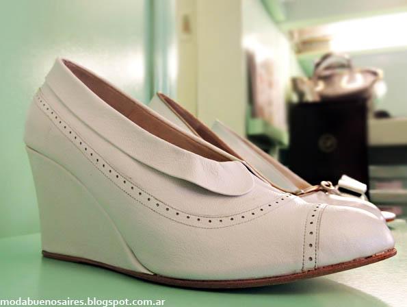 Zapatos de cuero invierno 2013 Gretaflora