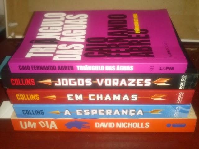 Desafio de Férias - 05 livros até 05/02