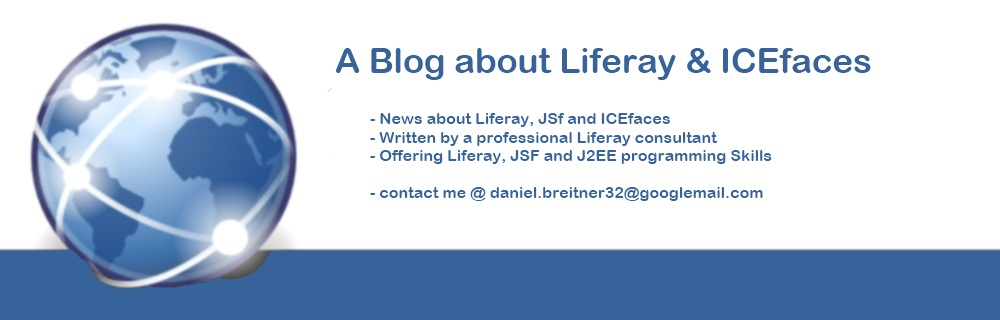 A Blog about Portals, Liferay, JSF and ICEFaces