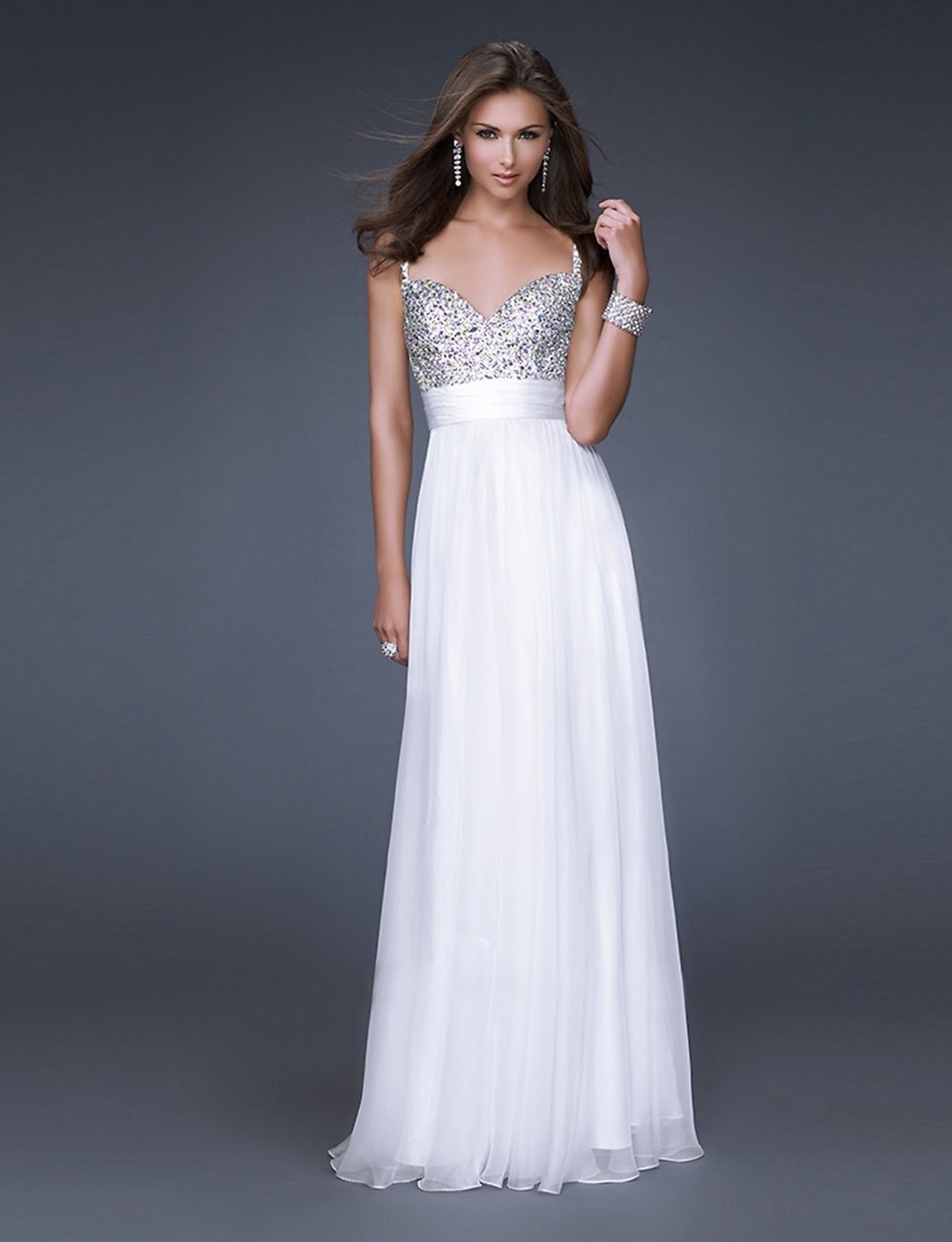 WhiteAzalea Prom Dresses: Beautiful White Prom Dresses