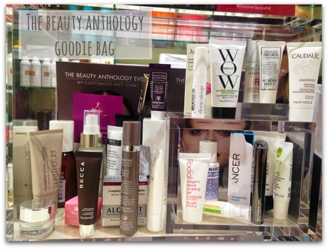 Space NK Beauty Anthology Goodie Bag Gift With Purchase