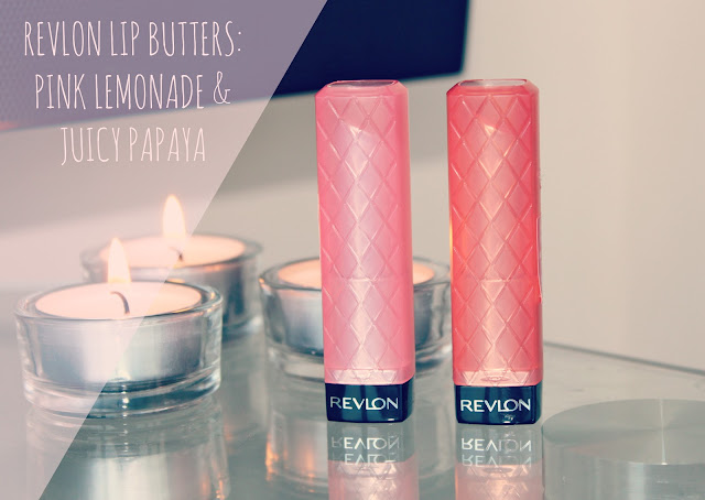 New Revlon Lip Butter Shades, Revlon Lip Butters, Pink Lemonade, Juicy Papaya, UK beauty blog, Couture Girl Blogspot, Beauty Blogger