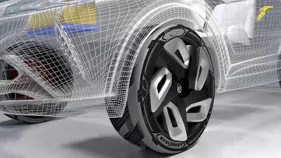 El pneumàtic del futur com a carregador de bateries