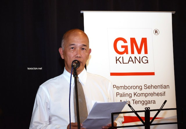 MD for GM Klang Wholesale City, Dato' Lim Seng Kok