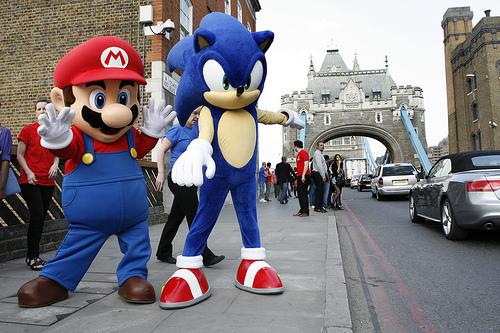Arena Nerd: Goku vs Sonic