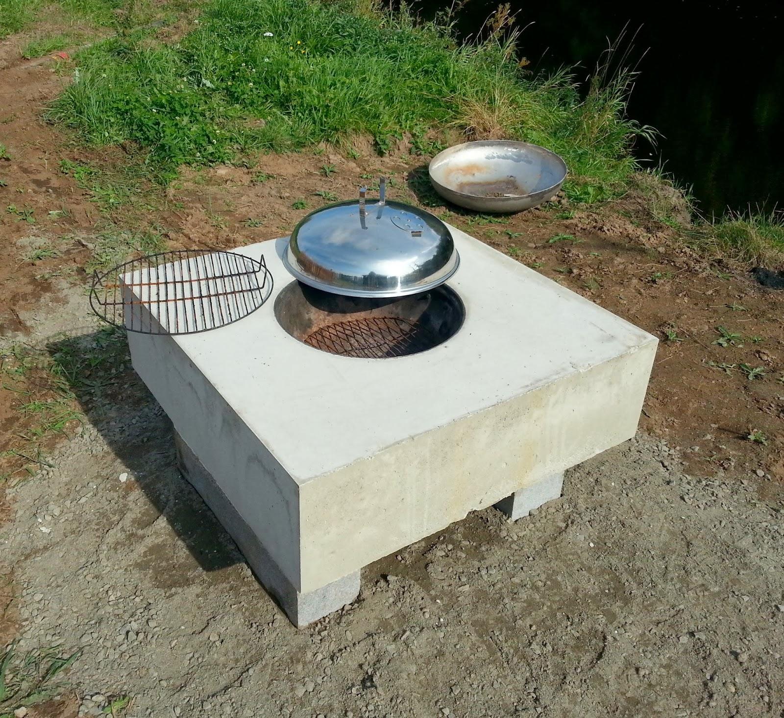 gjuta grill i betong