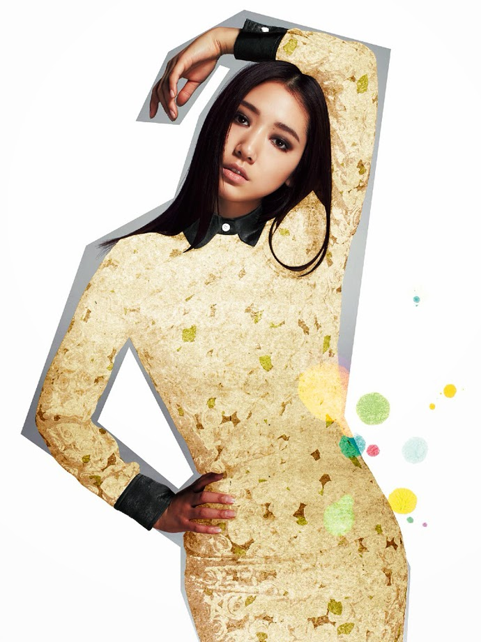 Park Shin Hye - Singles February 2014