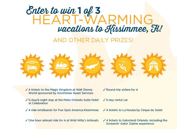Enter To Win A Kissimme Getaway!