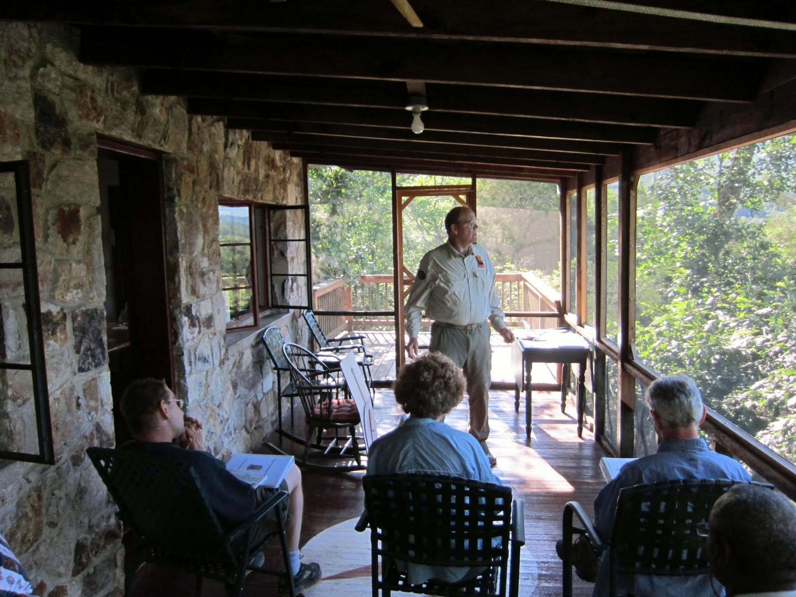 Glass House Patc Cabin : Old rag mountain hikes patrols by rsl