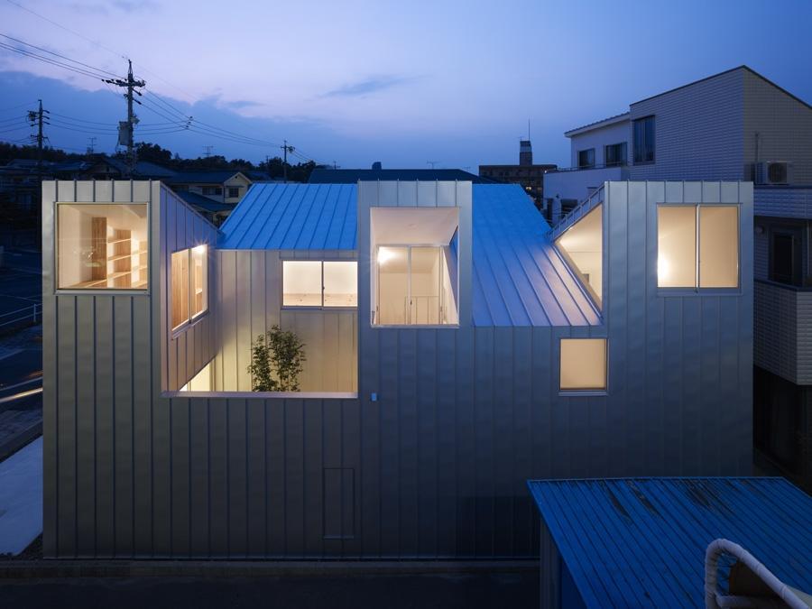 A f a s i a tomohiro hata architect and associates for Architecture japonaise moderne