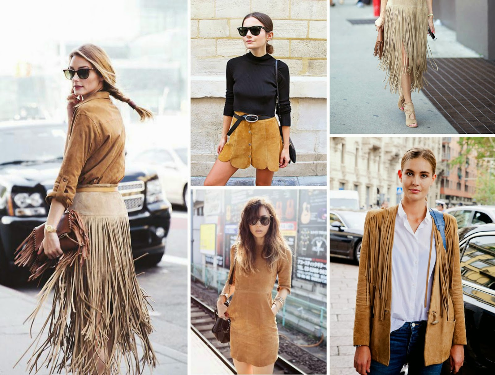 Suede Looks StreetStyle