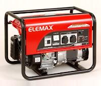 Genset Elemax SH 4600 EX - Jual Elemax SH 4600 EX Bekasi