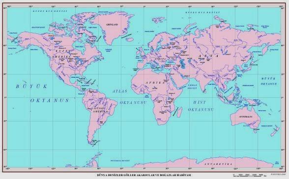 Rusyanın yıktığı denizler: coğrafya dersi