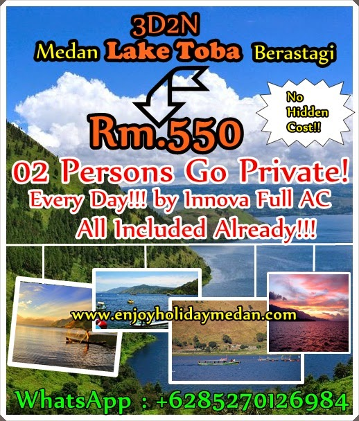 2 PERSONS DEPART EVERY DAY - PROMO RATE ONLY RM.550 - ALL IN - NO HIDDEN COST!!