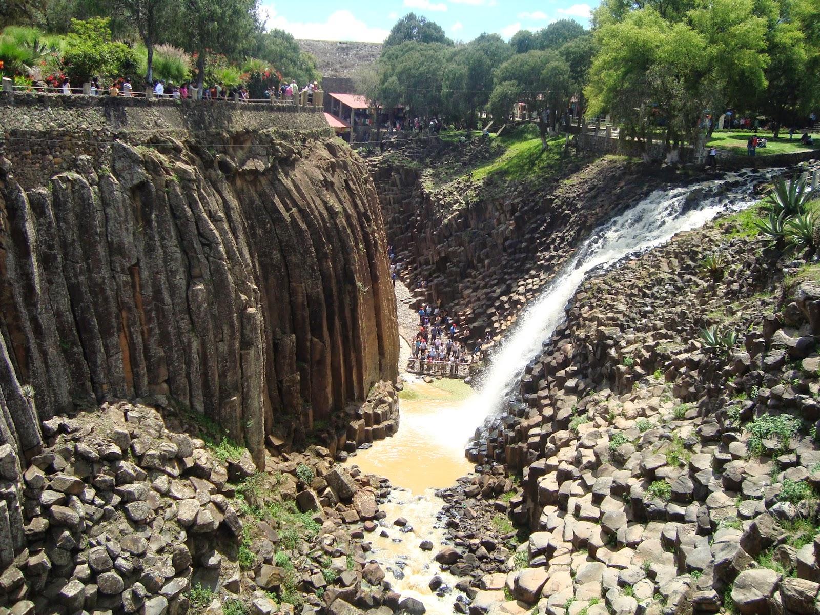 Huasca de Ocampo Prismas Basalticos